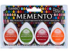 TMD-100-007 Set 4 almohadillas de tinta translucida MEMENTO pradera Memento