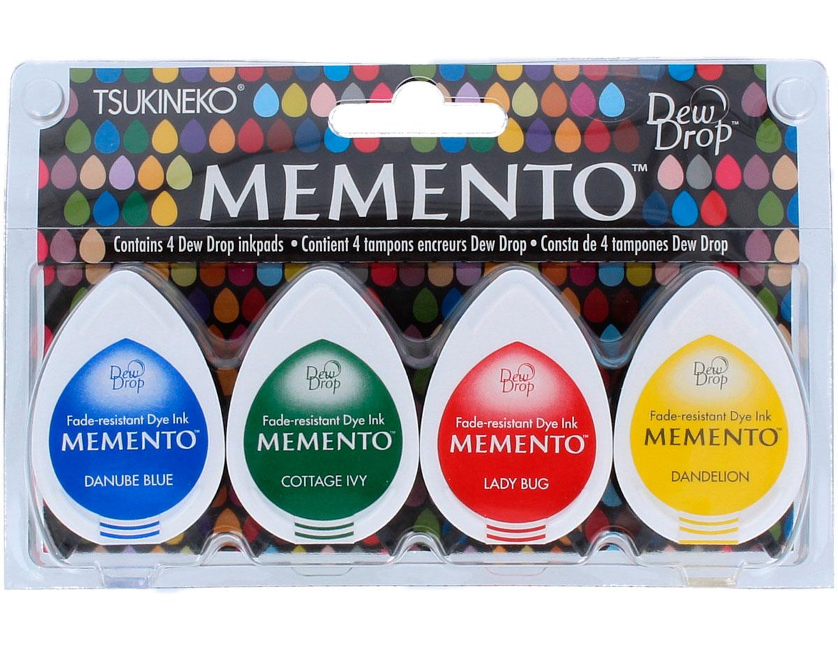 TMD-100-011 Set 4 almohadillas de tinta translucida MEMENTO horario estelar Memento