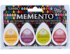 TMD-100-013 Set 4 almohadillas de tinta translucida MEMENTO mercado de granjero Memento