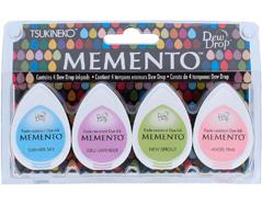 TMD-100-014 Set 4 almohadillas de tinta translucida MEMENTO oh baby Memento