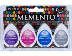 TMD-100-015 Set 4 almohadillas de tinta translucida MEMENTO dia lluvioso Memento