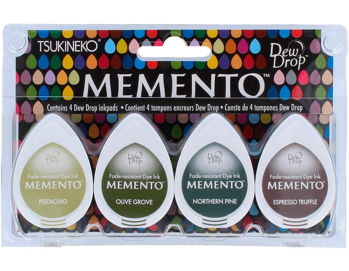 TMD-100-017 Set 4 almohadillas de tinta translucida MEMENTO parque central Memento