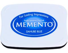 TME-600 Tinta MEMENTO color Danubio azul translucida Memento