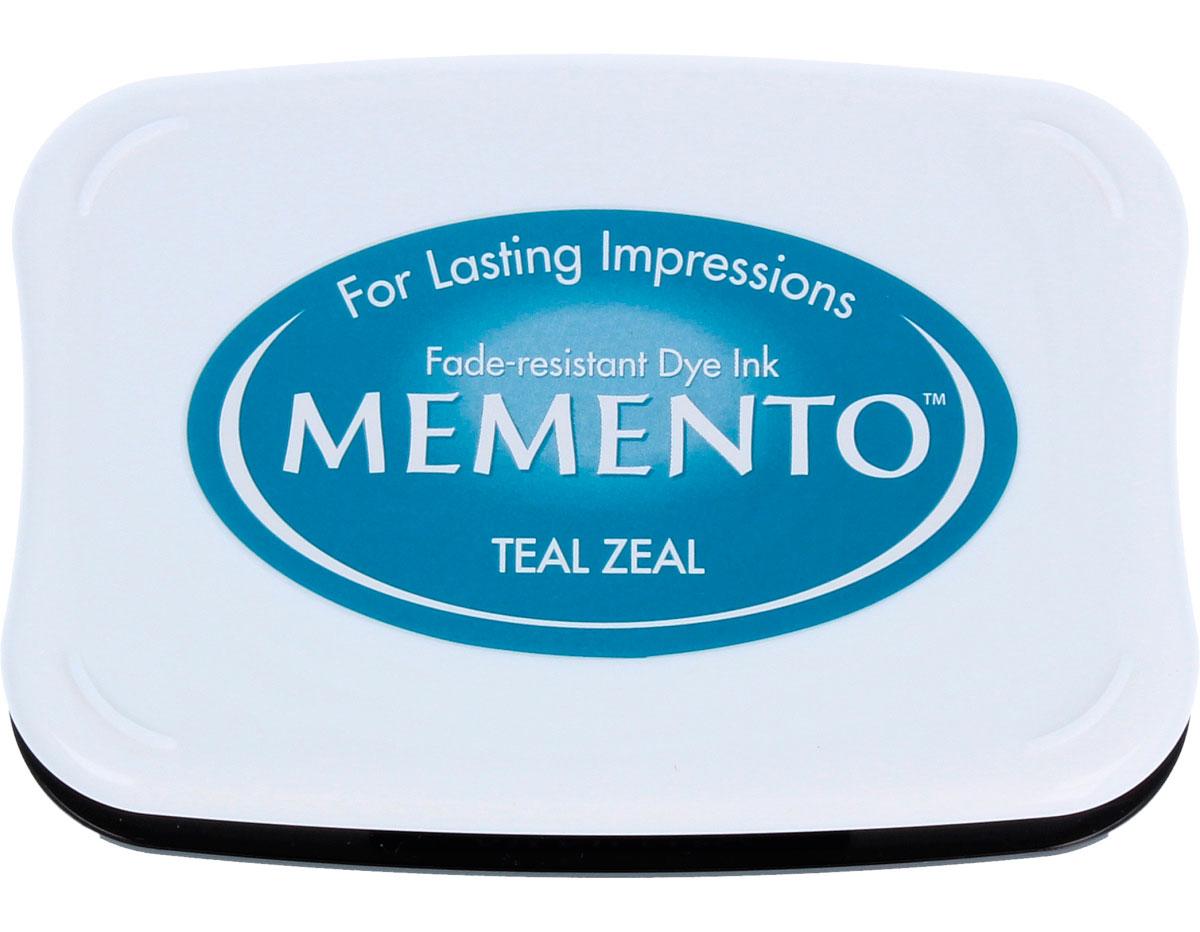 TME-602 Tinta MEMENTO color ardor verde azulado translucida Memento