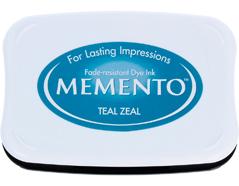 TME-602 Tinta MEMENTO color ardor verde azulado translucida Memento - Ítem