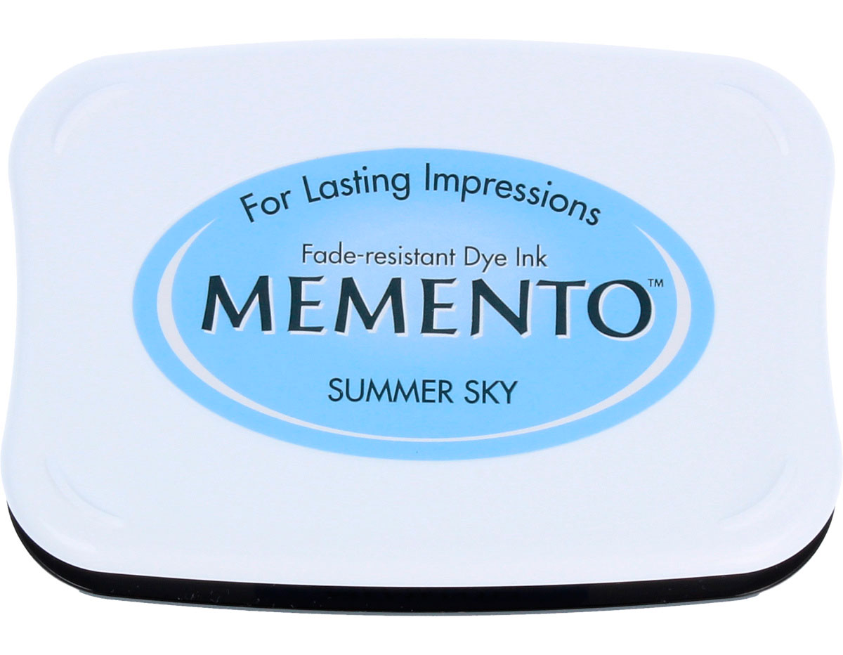 TME-604 Tinta MEMENTO color cielo de verano translucida Tsukineko
