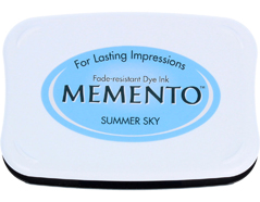 TME-604 Tinta MEMENTO color cielo de verano translucida Tsukineko - Ítem