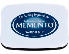 TME-607 Tinta MEMENTO color azul nautico translucida Memento