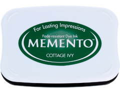 TME-701 Tinta MEMENTO color hiedra de cabana translucida Memento