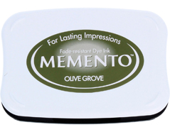 TME-708 Tinta MEMENTO color olivar translucida Tsukineko