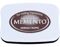TME-808 Tinta MEMENTO color trufas de cafe translucida Memento