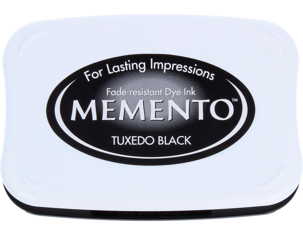 TME-900 Tinta MEMENTO color negro esmoquin translucida Tsukineko