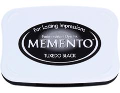 TME-900 Tinta MEMENTO color negro esmoquin translucida Tsukineko - Ítem