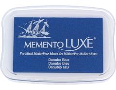TML-600 Tinta MEMENTO LUXE color Danubio azul opaca Memento luxe