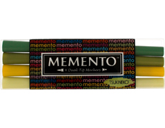TPM-100-002 Set 4 rotuladores ilustracion MEMENTO invernadero Memento