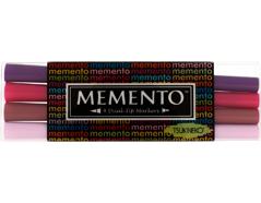TPM-100-003 Set 4 rotuladores ilustracion MEMENTO purpuras Memento