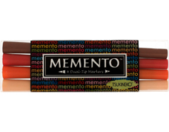 TPM-100-005 Set 4 rotuladores ilustracion MEMENTO canones de Arizona Memento