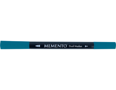 TPM-607 Rotulador ilustracion MEMENTO dual tip azul nautico Memento