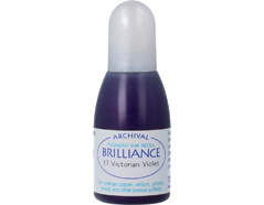 TRB-17 Tinta BRILLIANCE color violeta victoriano efecto nacarado recarga Brilliance