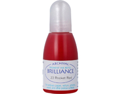 TRB-23 Tinta BRILLIANCE color rojo cohete efecto nacarado recarga Brilliance