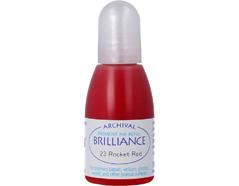 TRB-23 Tinta BRILLIANCE color rojo cohete efecto nacarado recarga Brilliance