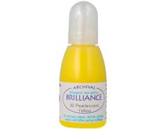 TRB-30 Tinta BRILLIANCE color amarillo perlado efecto nacarado recarga Brilliance - Ítem