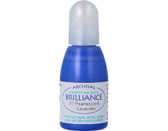 TRB-37 Tinta BRILLIANCE color lavanda perlada efecto nacarado recarga Brilliance