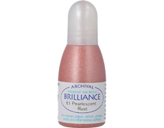 TRB-61 Tinta BRILLIANCE color oxido perlado efecto nacarado recarga Brilliance
