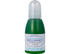 TRB-75 Tinta BRILLIANCE color tomillo perlado efecto nacarado recarga Brilliance - Ítem