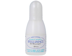 TRB-80 Tinta BRILLIANCE color blanco luna efecto nacarado recarga Brilliance