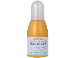 TRB-91 Tinta BRILLIANCE color oro galactico efecto nacarado recarga Brilliance