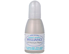 TRB-92 Tinta BRILLIANCE color planeta platino efecto nacarado recarga Brilliance