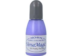 TRG-36 Tinta VERSAMAGIC color petunia bonita efecto tiza recarga Versamagic