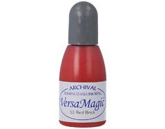TRG-53 Tinta VERSAMAGIC color rojo ladrillo efecto tiza recarga Versamagic