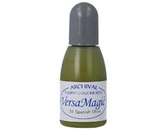 TRG-59 Tinta VERSAMAGIC color aceituna espanola efecto tiza recarga Versamagic