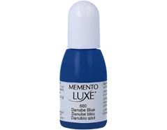 TRL-600 Tinta MEMENTO LUXE color Danubio azul opaca recarga Memento luxe