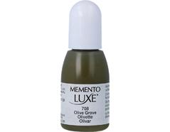 TRL-708 Tinta MEMENTO LUXE color olivar opaca recarga Memento luxe