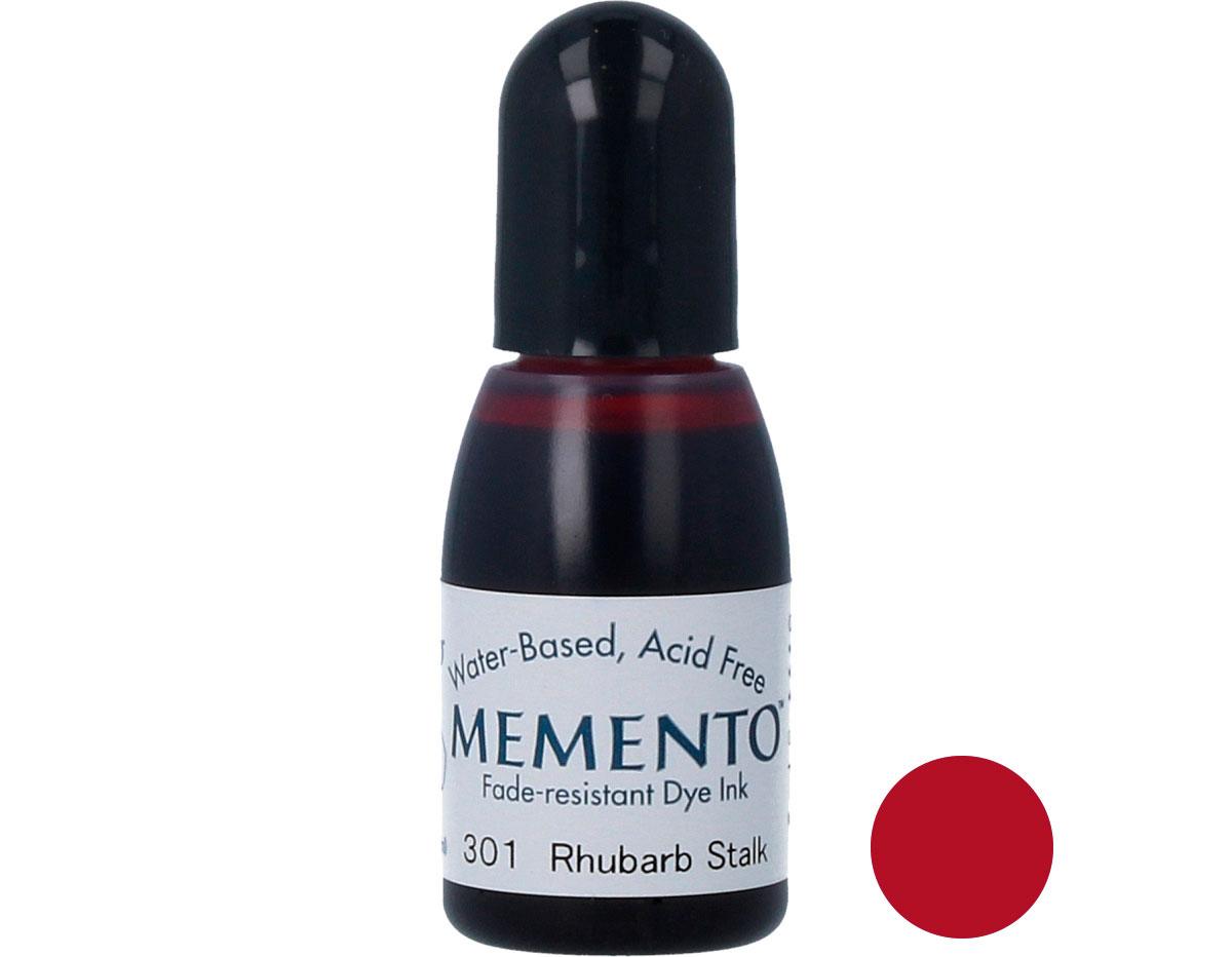 TRM-301 Tinta MEMENTO color tallo de ruibarbo translucida recarga Memento