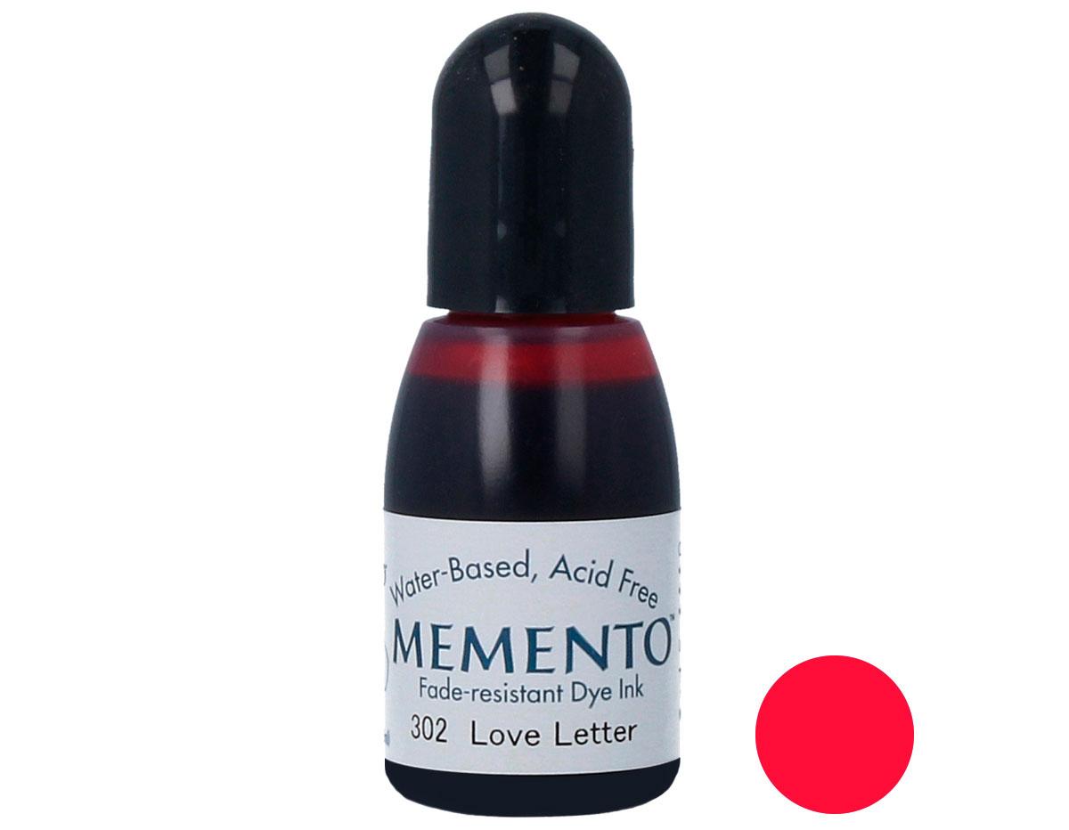 TRM-302 Tinta MEMENTO color carta de amor translucida recarga Memento