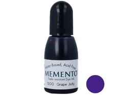 TRM-500 Tinta MEMENTO color jalea de uva translucida recarga Memento