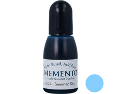 TRM-604 Tinta MEMENTO color cielo de verano translucida recarga Memento
