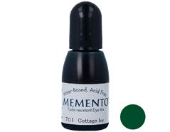 TRM-701 Tinta MEMENTO color hiedra de cabana translucida recarga Memento