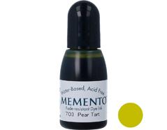 TRM-703 Tinta MEMENTO color tarta de pera translucida recarga Memento