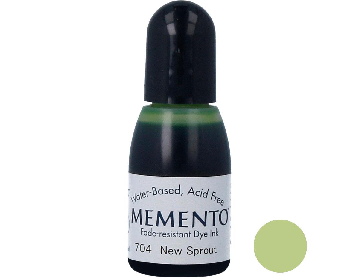 TRM-704 Tinta MEMENTO color brote nuevo translucida recarga Memento