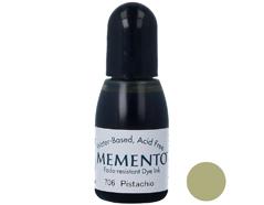TRM-706 Tinta MEMENTO color pistacho translucida recarga Memento