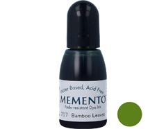TRM-707 Tinta MEMENTO color hojas de bambu translucida recarga Memento