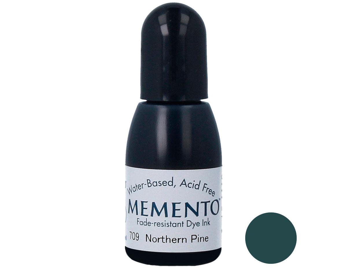 TRM-709 Tinta MEMENTO color pino norteno translucida recarga Memento