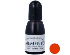 TRM-801 Tinta MEMENTO color arcilla de alfarero translucida recarga Memento
