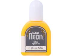 TRN-71 Tinta RADIANT NEON color amarillo electrico recarga opaca Radiant neon