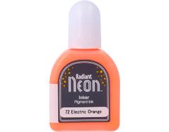 TRN-72 Tinta RADIANT NEON color anaranjado electrico opaca recarga Radiant neon